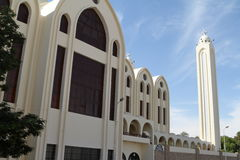 Coptic church in Aswan Egypt. The Coptic church in Aswan Egypt Stock Photography