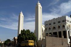 Coptic church in Aswan Egypt Stock Image