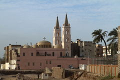 Coptic Church in Egypt. The Coptic Church in Egypt Royalty Free Stock Photography