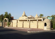Coptic church in Hurghada Stock Photos