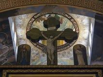Coptic Orthodox Church. All saints who live in Heavens (El Samaaeyeen Royalty Free Stock Image
