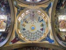 Coptic Orthodox Church. All saints who live in Heavens (El Samaaeyeen Royalty Free Stock Photos