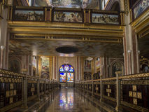Coptic Orthodox Church. All saints who live in Heavens (El Samaaeyeen Stock Image