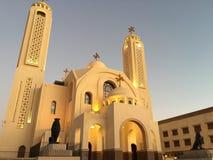 Egypt, Coptic Orthodox Church all saints who live in Heavens /Al-Samaeyn church/, Sharm El Sheikh Royalty Free Stock Photography
