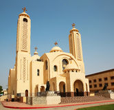 The Coptic Orthodox Church in Sharm El Sheikh Stock Images