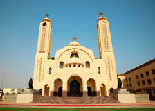 The Coptic Orthodox Church in Sharm El Sheikh Royalty Free Stock Photography