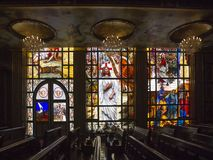 Coptic ortodox kyrka royaltyfria foton