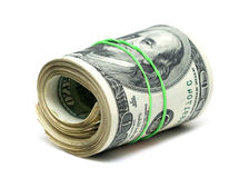 Copula of dollars Royalty Free Stock Photo