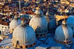Copula Dome San Marco, Venice, Italy royalty free stock photo