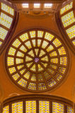 Copula Galleria Vittorio Emanuele III, Messina, Italy royalty free stock image