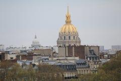 Copula HÃ'tel des Invalides στο Παρίσι Στοκ Εικόνες
