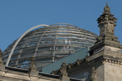 Copule of Reichstag, The House Stock Image