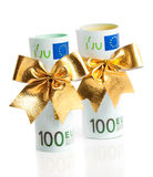 Copulla of euro Stock Image