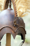 Copy of ancient helmet of Roman legionnaire Stock Images