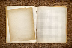Copy-book Stock Image