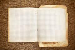Copy-book Foto de archivo libre de regalías