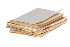Copy-book viejo Fotos de archivo libres de regalías