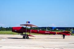 Copy of Coanda airplane at BIAS 2014 royalty free stock photography