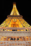 Copy of the Eiffel tower Stock Photography