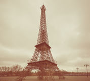 Copy of Eiffel tower. Stock Image