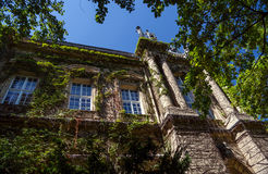 Copy of historical castle in Budapest, Hungary. Royalty Free Stock Images