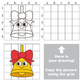 Copy the image using grid, the simple educational kid game. Royalty Free Stock Photos