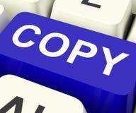 Copy Keys Mean Duplicate Copying Or Replicate Stock Photos