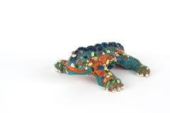 Copy of Lizard in Barcelona Royalty Free Stock Image
