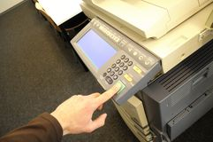 Copy machine Royalty Free Stock Photos