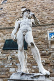 Copy of Michelangelos David in Florence, Italy Royalty Free Stock Photography