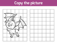 Copy the picture, Bat Royalty Free Stock Photography
