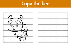 Copy the picture (bee) Stock Photos