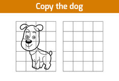 Copy the picture (dog) Royalty Free Stock Photos