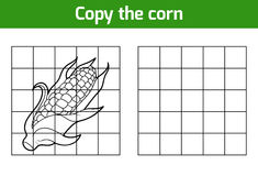 Copy the picture. Fruits and vegetables, corn Stock Photography