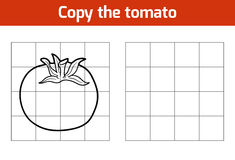 Copy the picture. Fruits and vegetables, tomato Royalty Free Stock Images