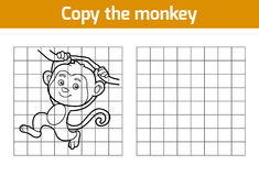 Copy the picture (monkey) Stock Photos