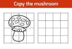 Copy the picture: mushroom Royalty Free Stock Photos