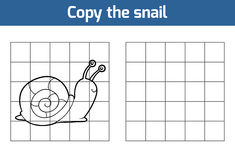 Copy the picture (snail) Royalty Free Stock Photos