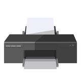 Copy and print or fax machine office vector icon Stock Photography