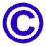 Copy right mark icon Royalty Free Stock Images