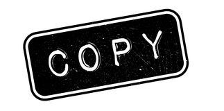 Copy rubber stamp Royalty Free Stock Images