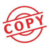 Copy rubber stamp Stock Images