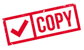 Copy rubber stamp Royalty Free Stock Photography
