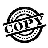 Copy rubber stamp Stock Photo