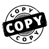 Copy rubber stamp Stock Photography