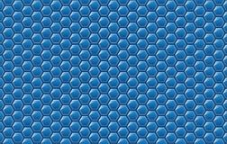 Copy space,abstract background concept of geometric graphic seamless blue hexagon. Design of polygon pattern modern style for decorative,beautiful illustration vector illustration