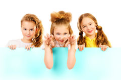 Copy space children Royalty Free Stock Image