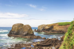 Free Copy-space Cobble Beach Newport, Oregon Stock Photo - 96698070