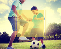 Copy Space Frame Summer Vacation Holiday Concept Royalty Free Stock Photography