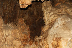 Copy Space Inside the Cave of Colossal Cave Mountain Park Royalty Free Stock Photo